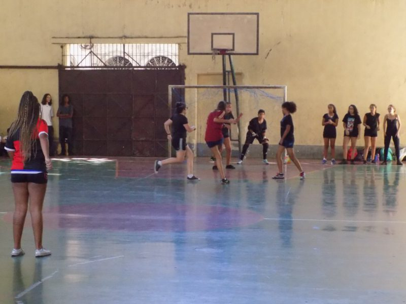 "Momento da final do campeonato ""Elas na Quadra"" (2)"